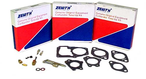 Zenith carburetor kits and gaskets click to enlarge